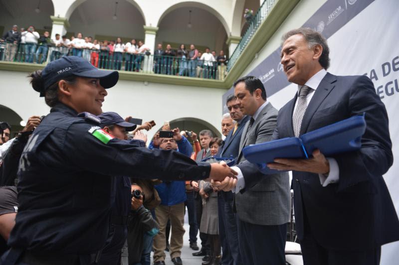 Cumpliremos el compromiso de que Veracruz vuelva a ser seguro: Gobernador Yunes