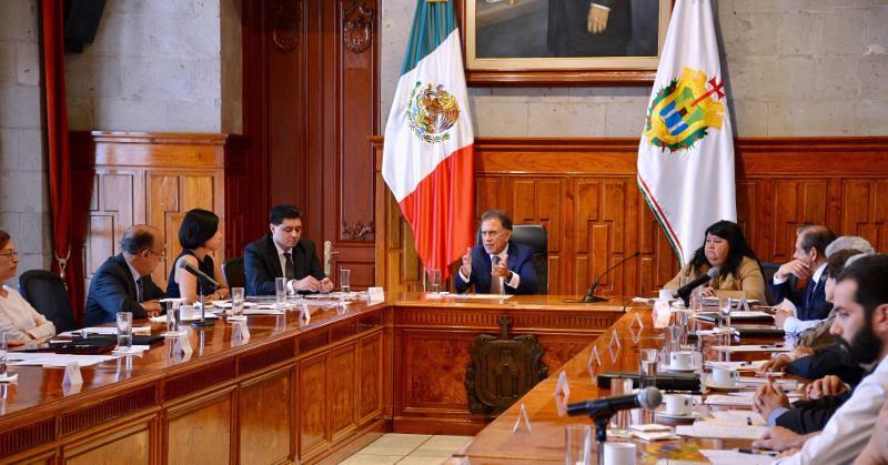 Mediante el diálogo con diputados, buscará MAYL ajustar presupuesto a la realidad de Veracruz