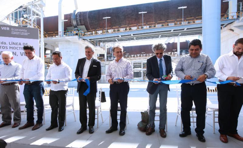 Con inversión de 150 millones de dólares se construyó una nueva planta cementera en Veracruz