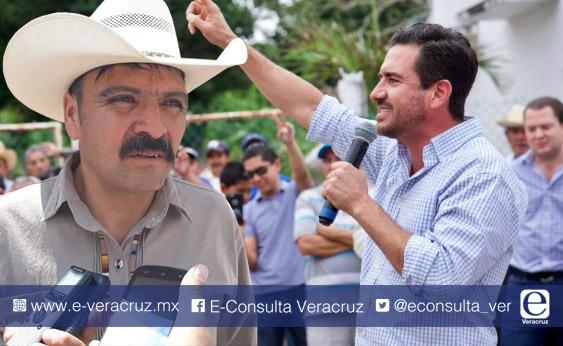 Alcalde de Acultzingo ligado al robo de trenes se une a campaña de Yunes Márquez