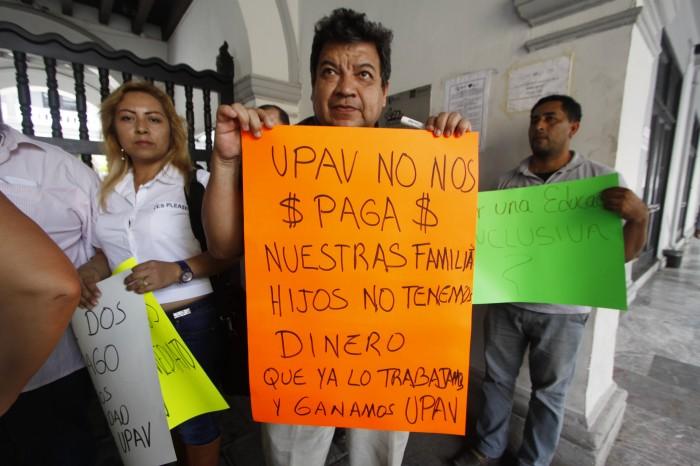 UPAV no ha pagado salarios al 80% de su personal, reclaman