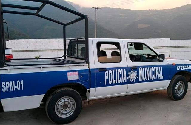 Utilizaron un auto robado como patrulla, en Atzacan