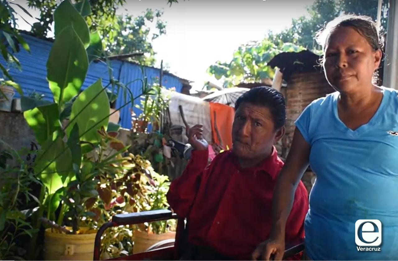 VIDEO | Juan Carlos sufre discapacidad y lo excluyen de programa social por su edad