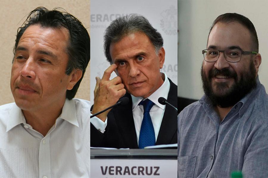 FGR tras Yunes y Duarte: Cuitláhuac