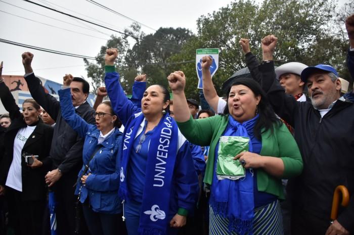 Minuto a minuto de la marcha #EnDefensadelaUV