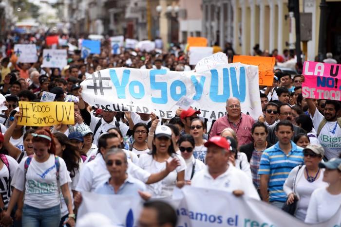 UV, un año de lucha por el presupuesto universitario