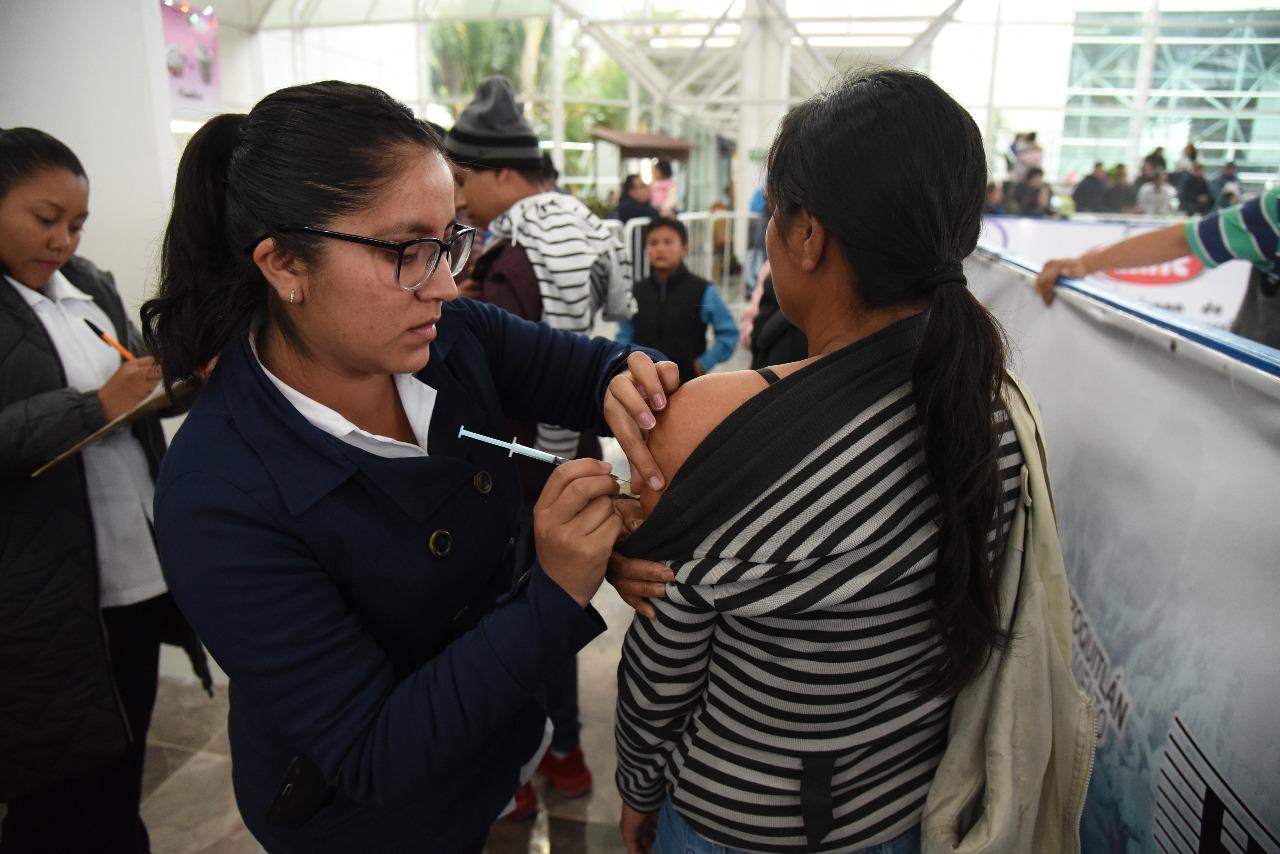 Lanzan campaña de vacunación para prevenir casos de influenza