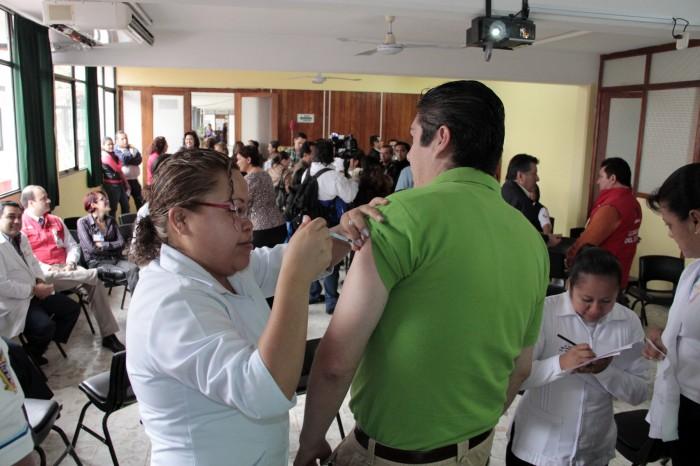 Aplican entre 15 y 20% de vacunas de influenza, hay desinterés