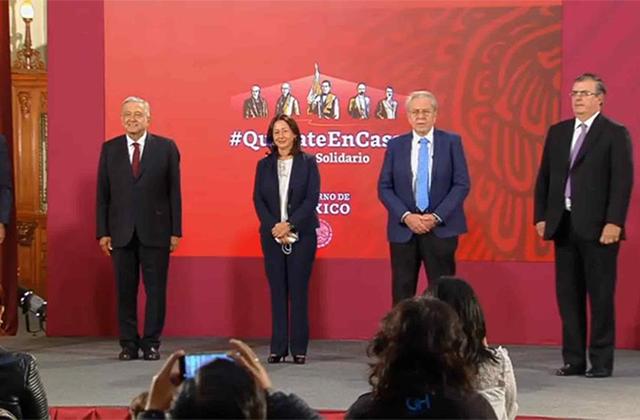 Vacuna para covid-19 en México llegará a inicios de 2021: AMLO