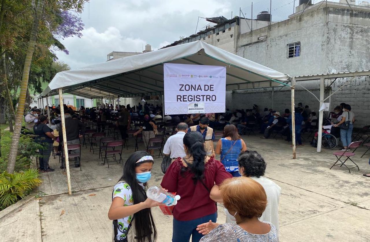 Vacunación contra covid en Banderilla, este 5 y 6 de abril
