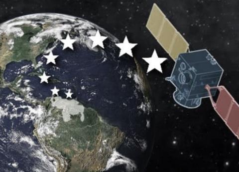 Apagón en Venezuela visto desde el espacio