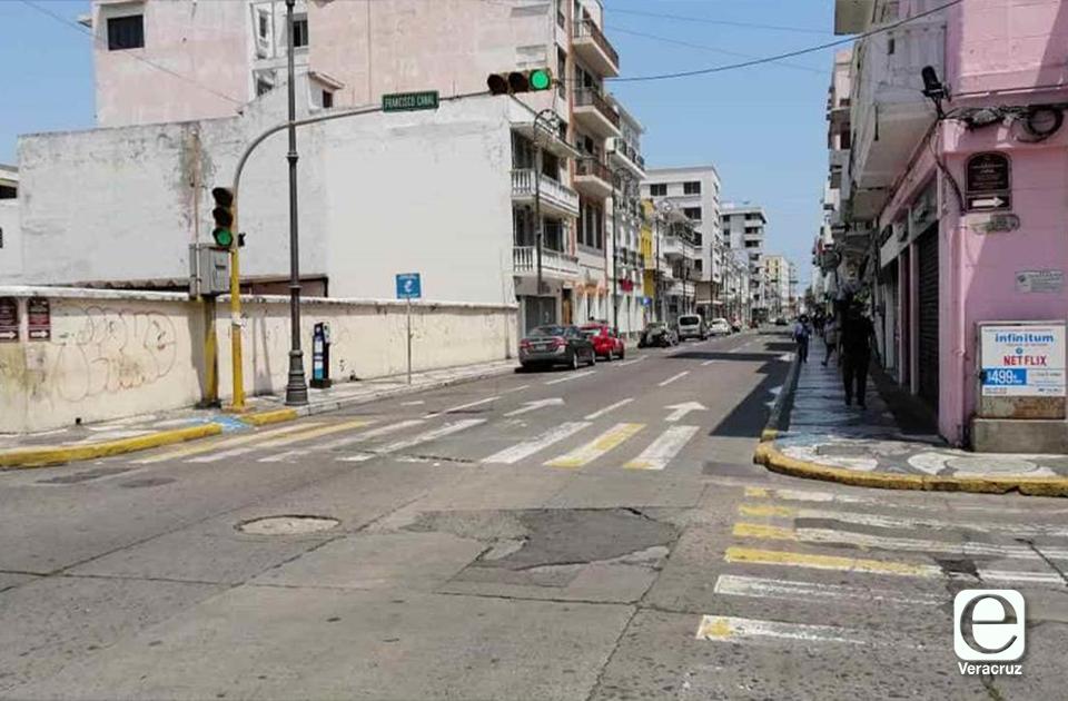 Reabren calles de Boca del Río y Veracruz, tras días sin paso