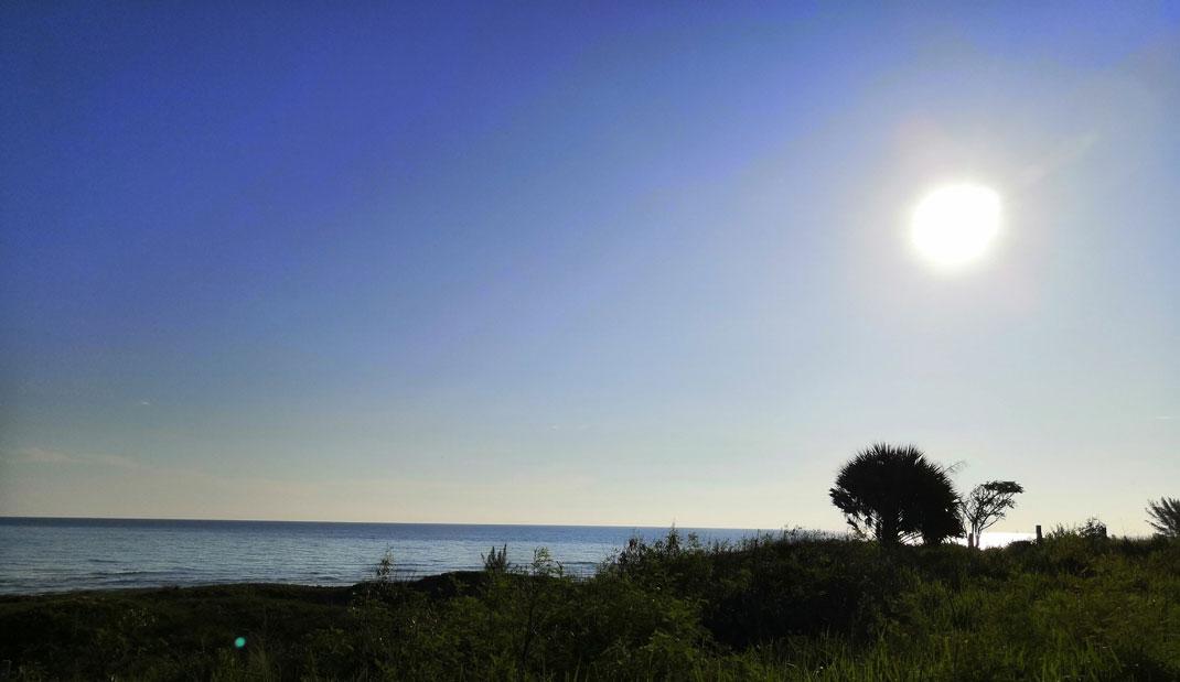 Prevén recuperación gradual de temperatura diurna en Veracruz