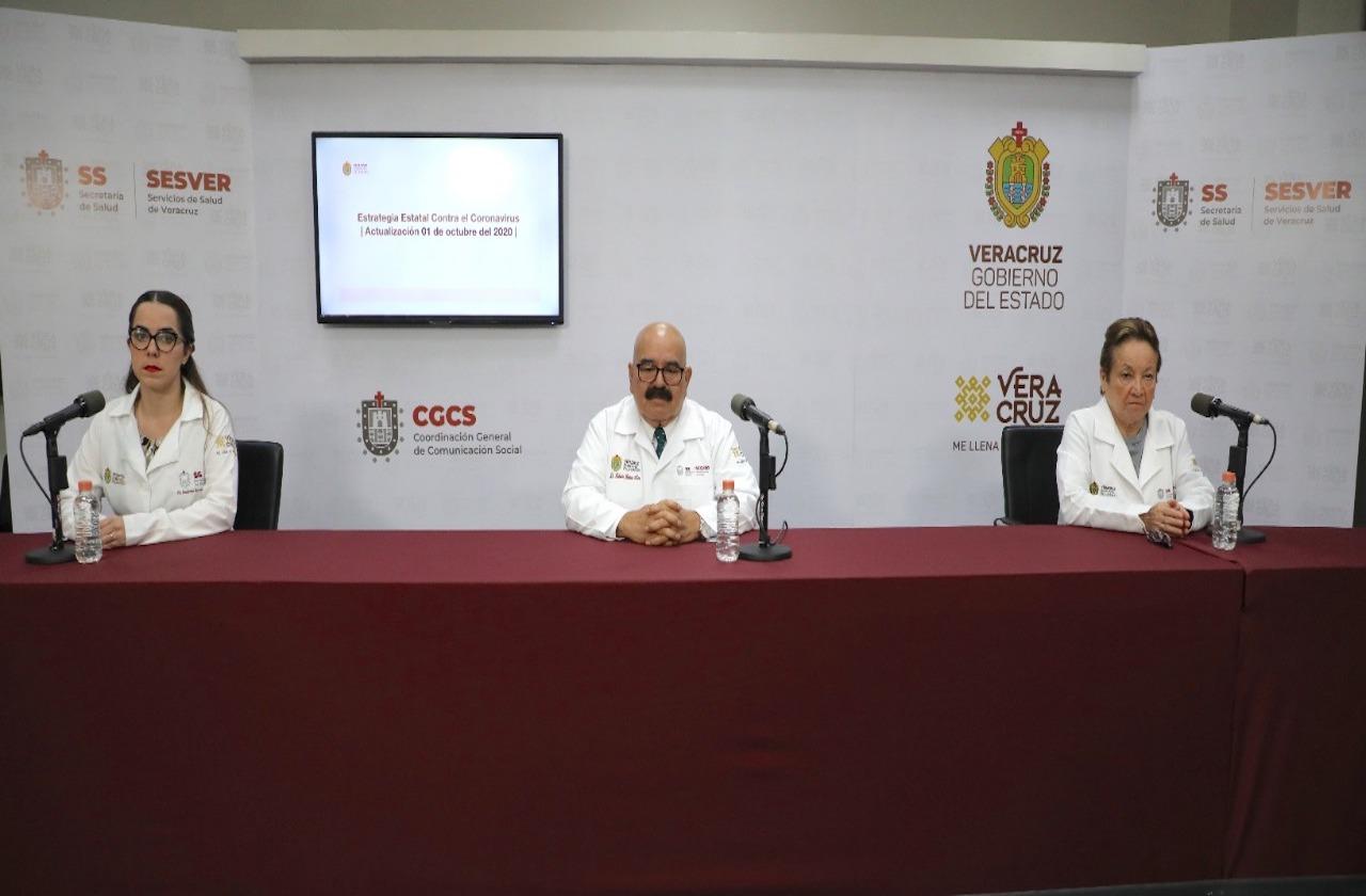 Veracruz alcanzó las 4 mil 371 defunciones por covid