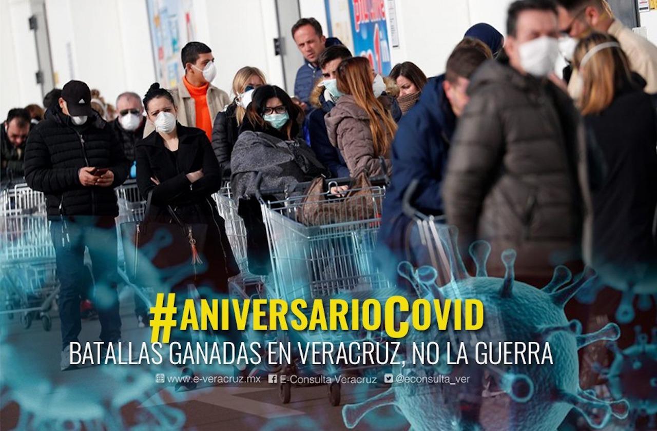 El antes y después, a un año de la pandemia en Veracruz