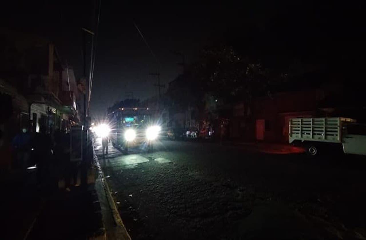 Veracruz puerto despide el 2020 con apagones