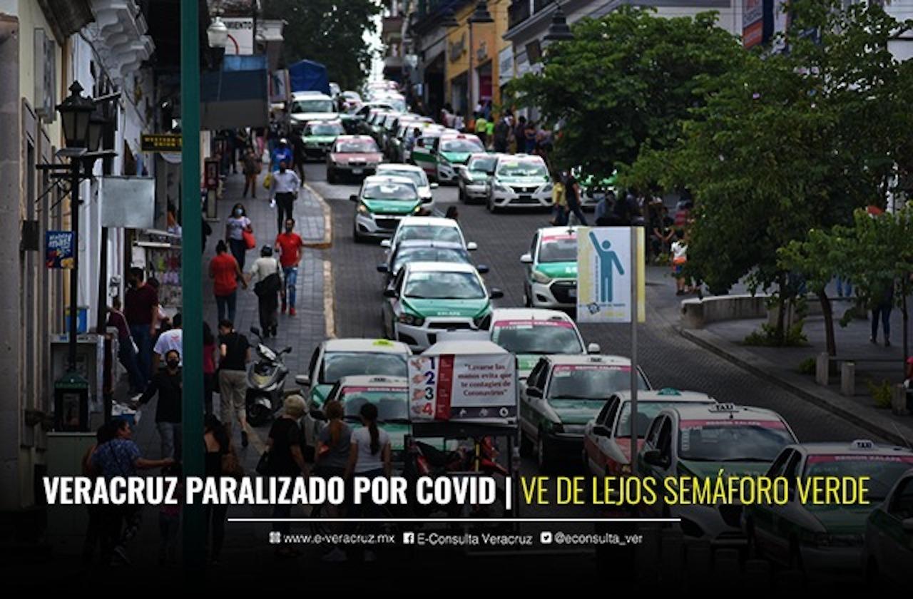 Veracruz rompe con proyecciones del Conacyt por alza en contagios