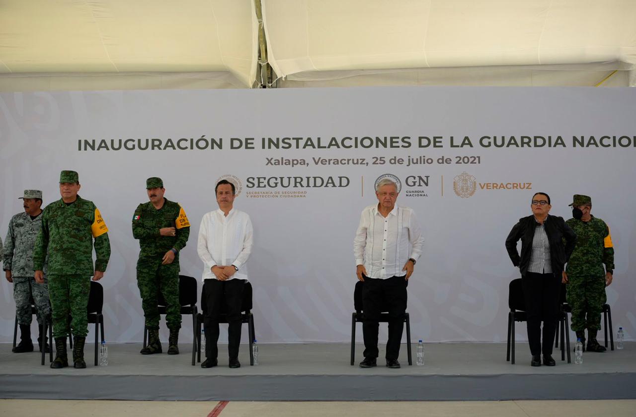 Veracruz ya duplicó de 3 mil a 6 mil sus policías, asegura Gobernador