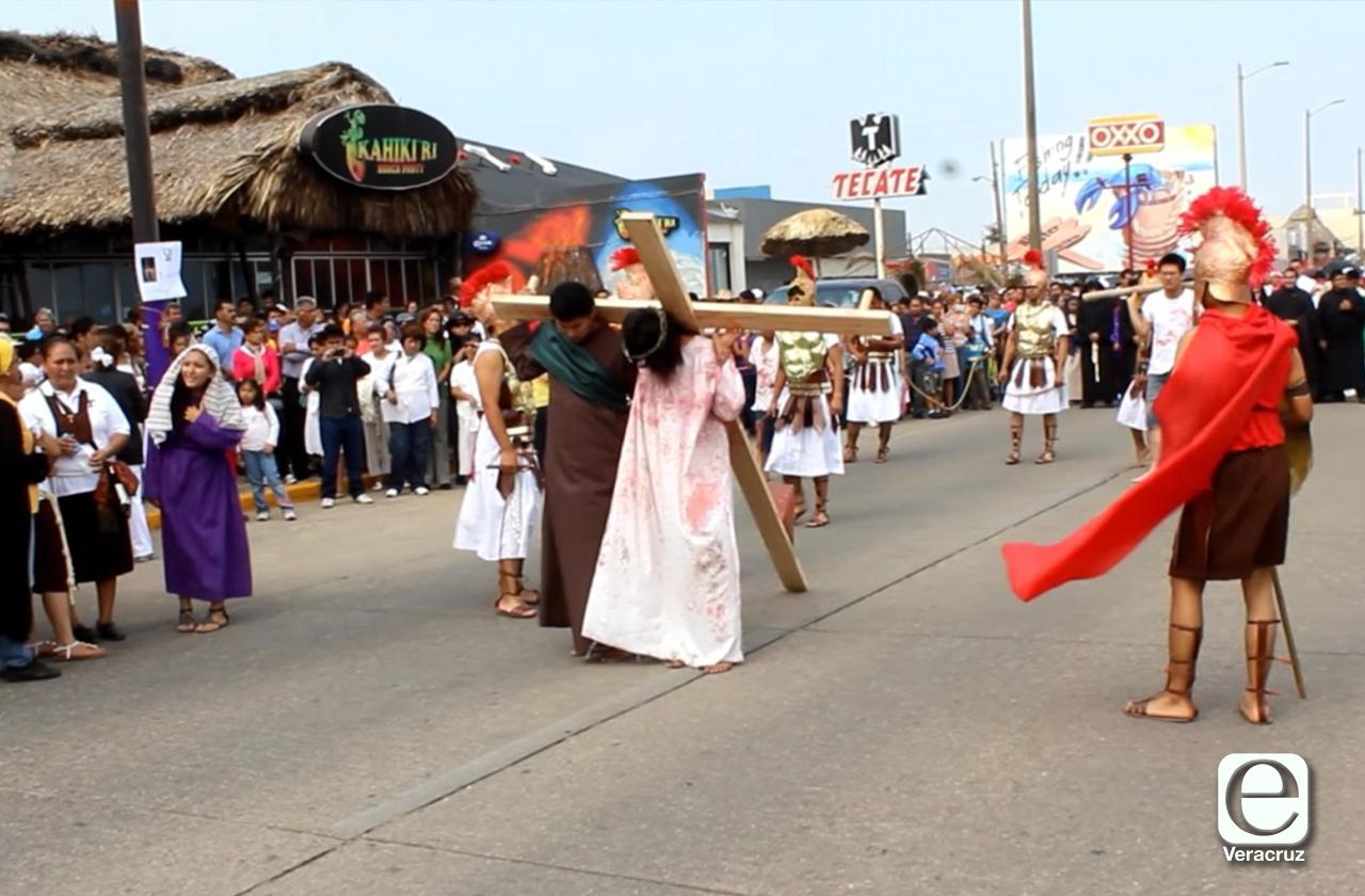 Suspenden todos los viacrucis en municipios del sur de Veracruz