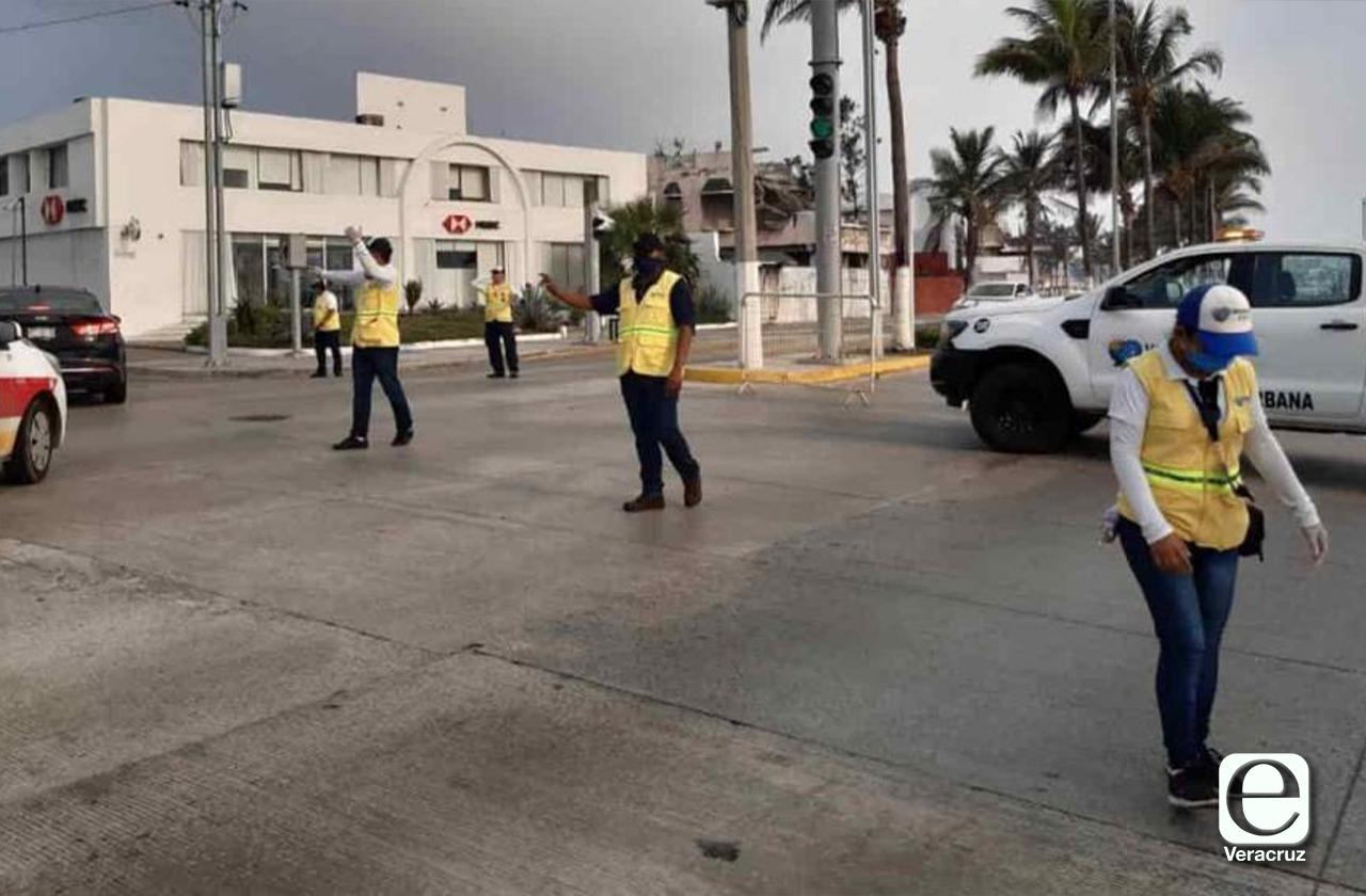 Mantiene Boca del Río cierres viales durante esta semana