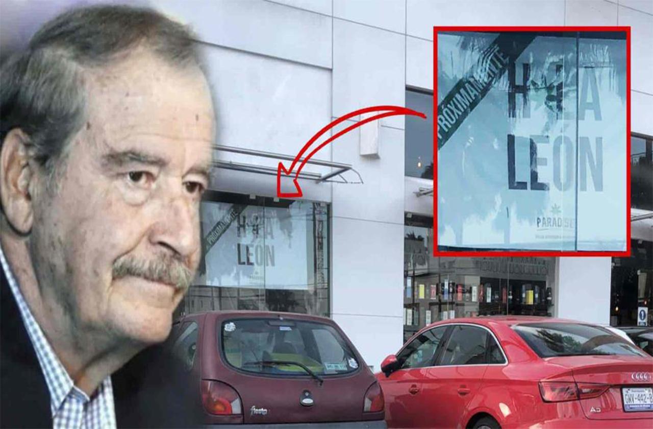 Vicente Fox presenta su tienda de productos de mariguana en León