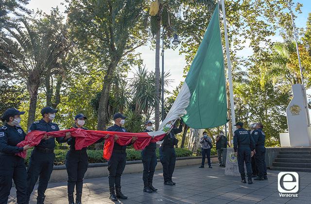 Así se rindieron honores a víctimas del 2 de octubre en Xalapa