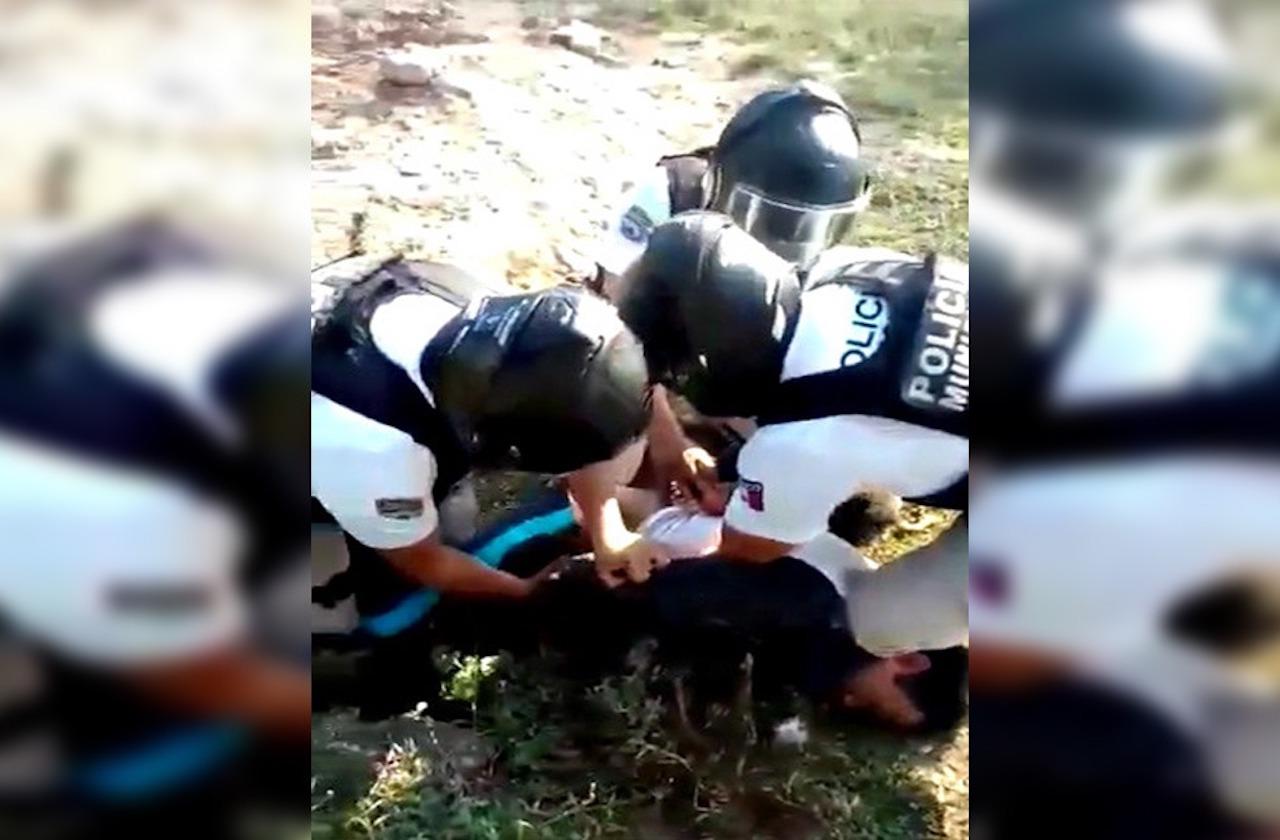 VIDEO | Denuncian abuso policial en Xalapa; CEDH abre queja