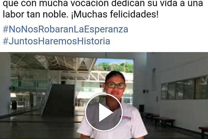 UV presenta queja contra candidata de Morena por grabar video en campus Poza Rica
