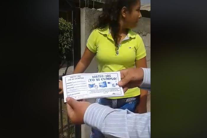 VIDEO: Compran votos a favor de hijos de exduartista en Veracruz