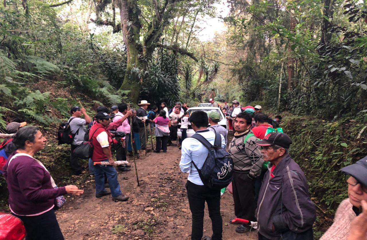 Vinculan a proceso a campesinos por invadir tierras en Coatepec