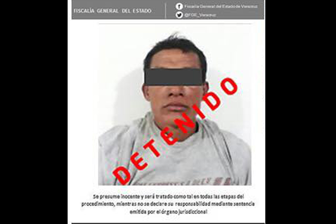 Detienen a presunto violador de la zona conurbada Veracruz-Boca del Río