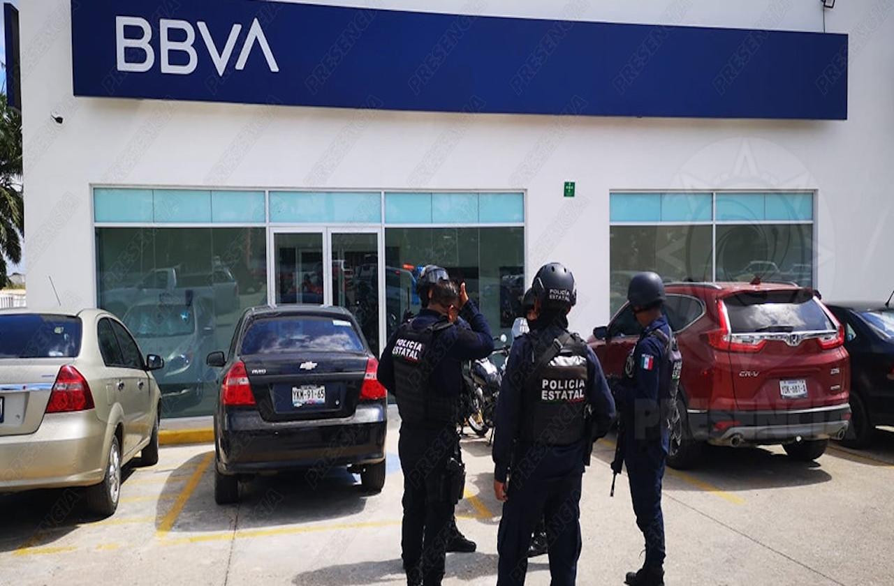 Violento atraco en pleno centro de Las Choapas