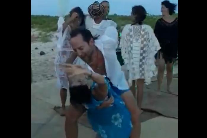 Circula nuevo video de fiesta VIP en Isla Salmedina, Veracruz