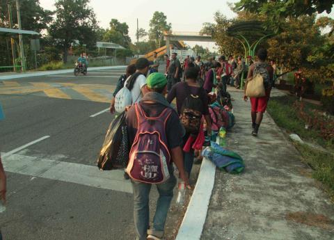 Más de 12 mil migrantes en lista para recibir visa de ayuda humanitaria