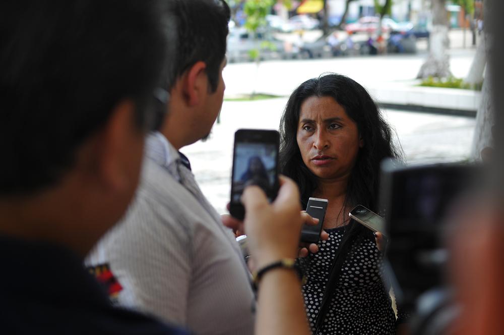 Viuda de Gregorio Jiménez se deslinda de queja