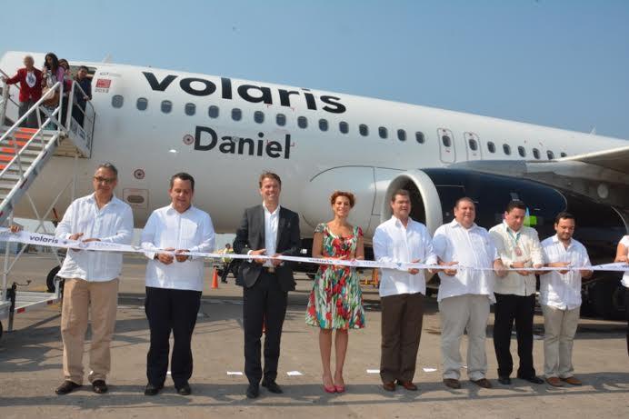 Inauguran ruta aérea Monterrey-Veracruz-Monterrey