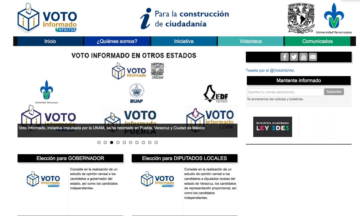 Voto Informado Veracruz promovió la cultura democrática