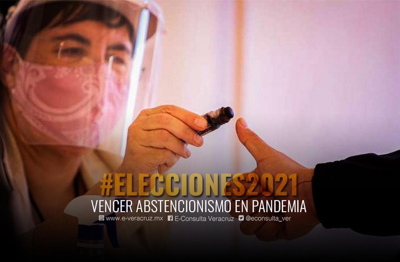 Voto vs covid: ¿Abstencionismo triunfará en Veracruz el 6 de junio?