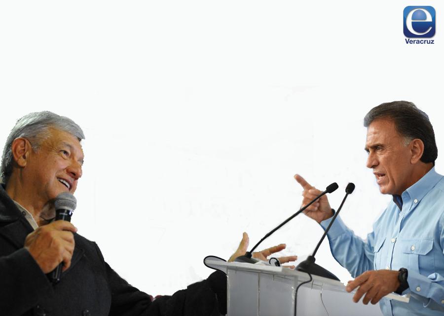 López Obrador y Yunes inician nueva confrontación en Twitter