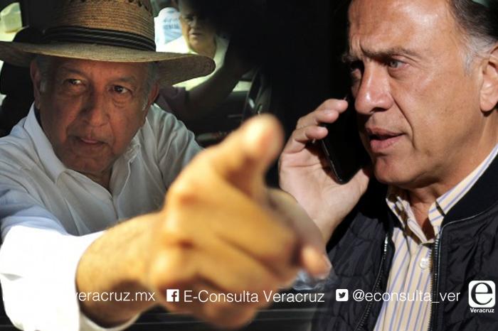 AMLO aconseja a Yunes Linares cómo combatir la inseguridad
