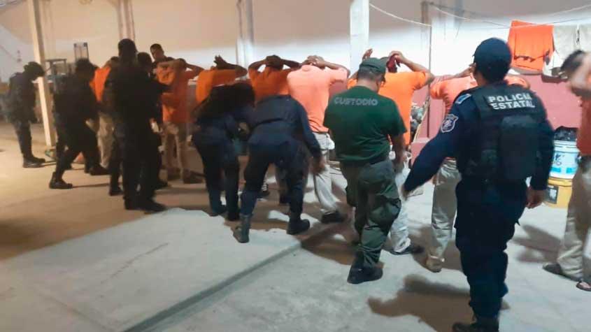 Policía penitenciaria de Veracruz reprobada en control y confianza