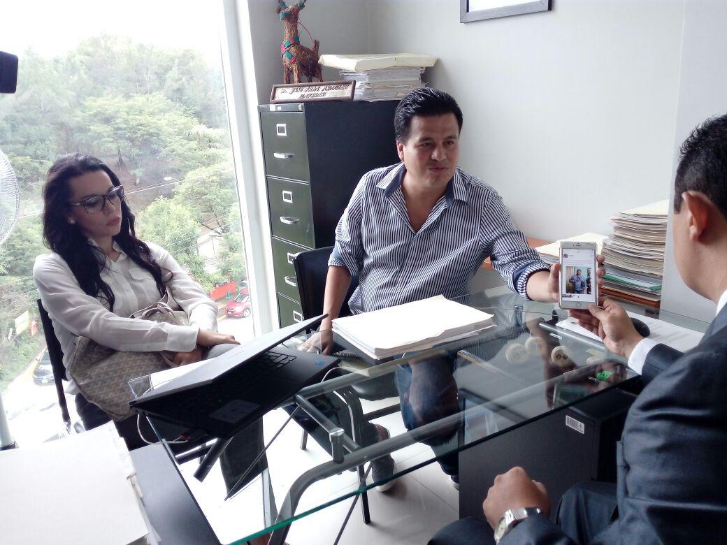 Noé Zavaleta presenta denuncia por intimidación y acusaciones