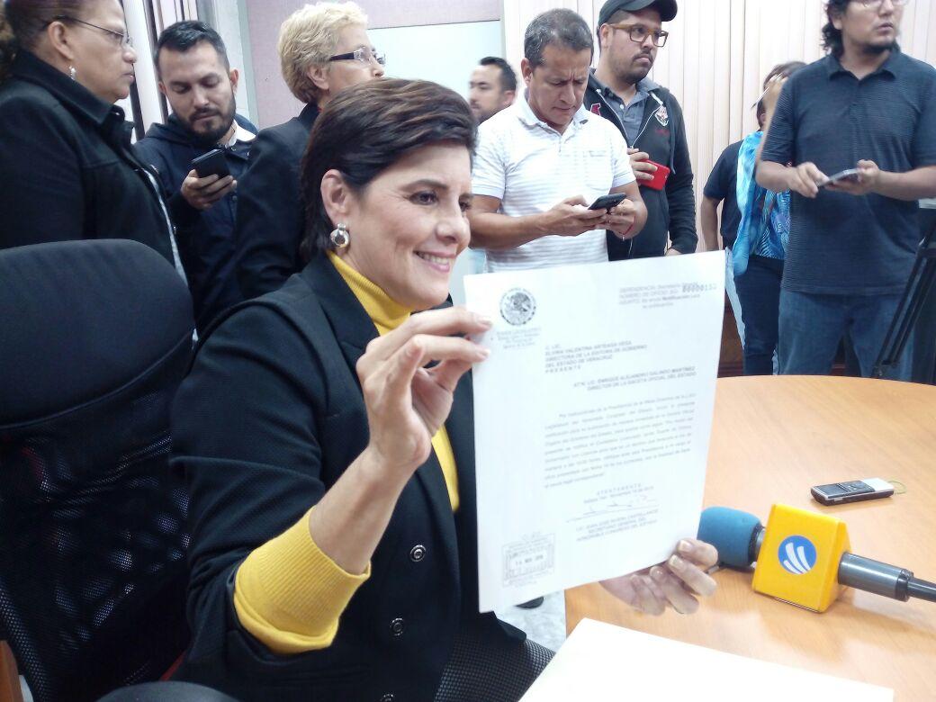 Duarte tiene hasta las 10 horas del martes para ratificar regreso a la gubernatura