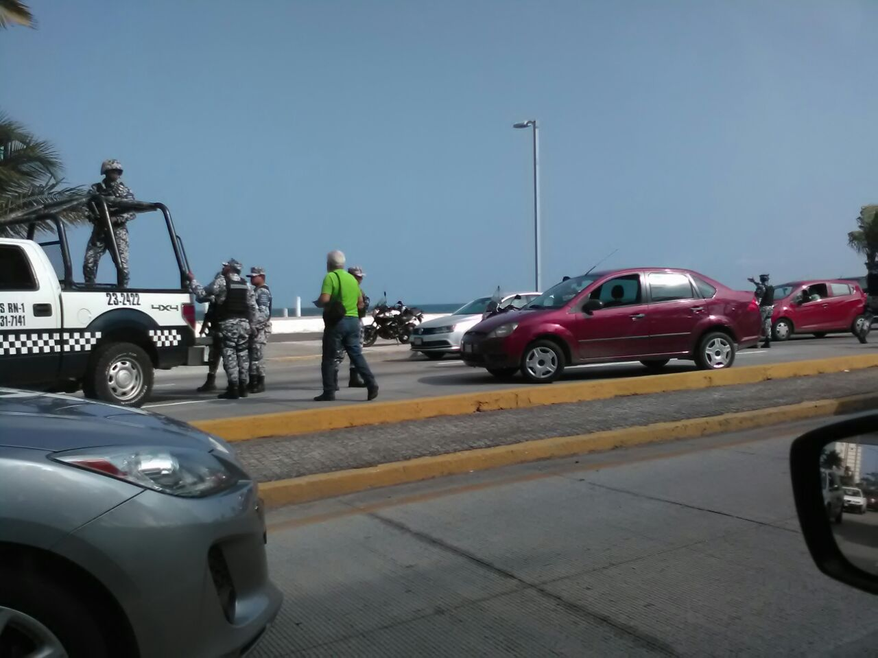 Atrapan a presuntos asaltantes de bancos en Boca del Río