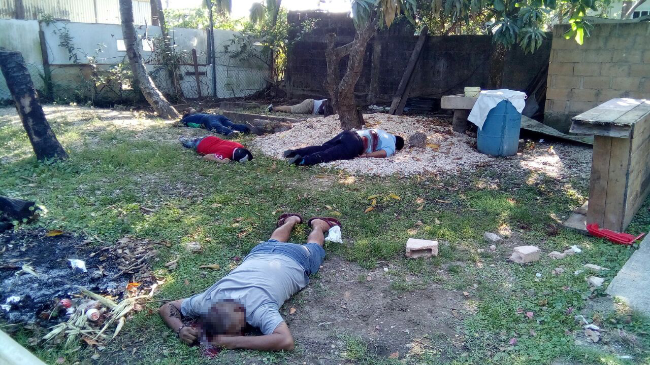 Asesinan a cinco personas en Coatzacoalcos