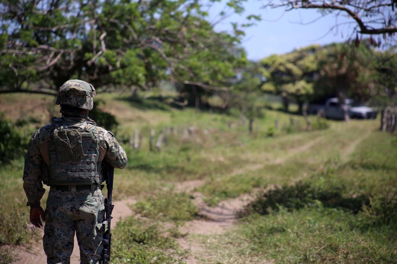 Doce cuerpos exhumados en fosa vigilada por Marinos en Alvarado, Veracruz