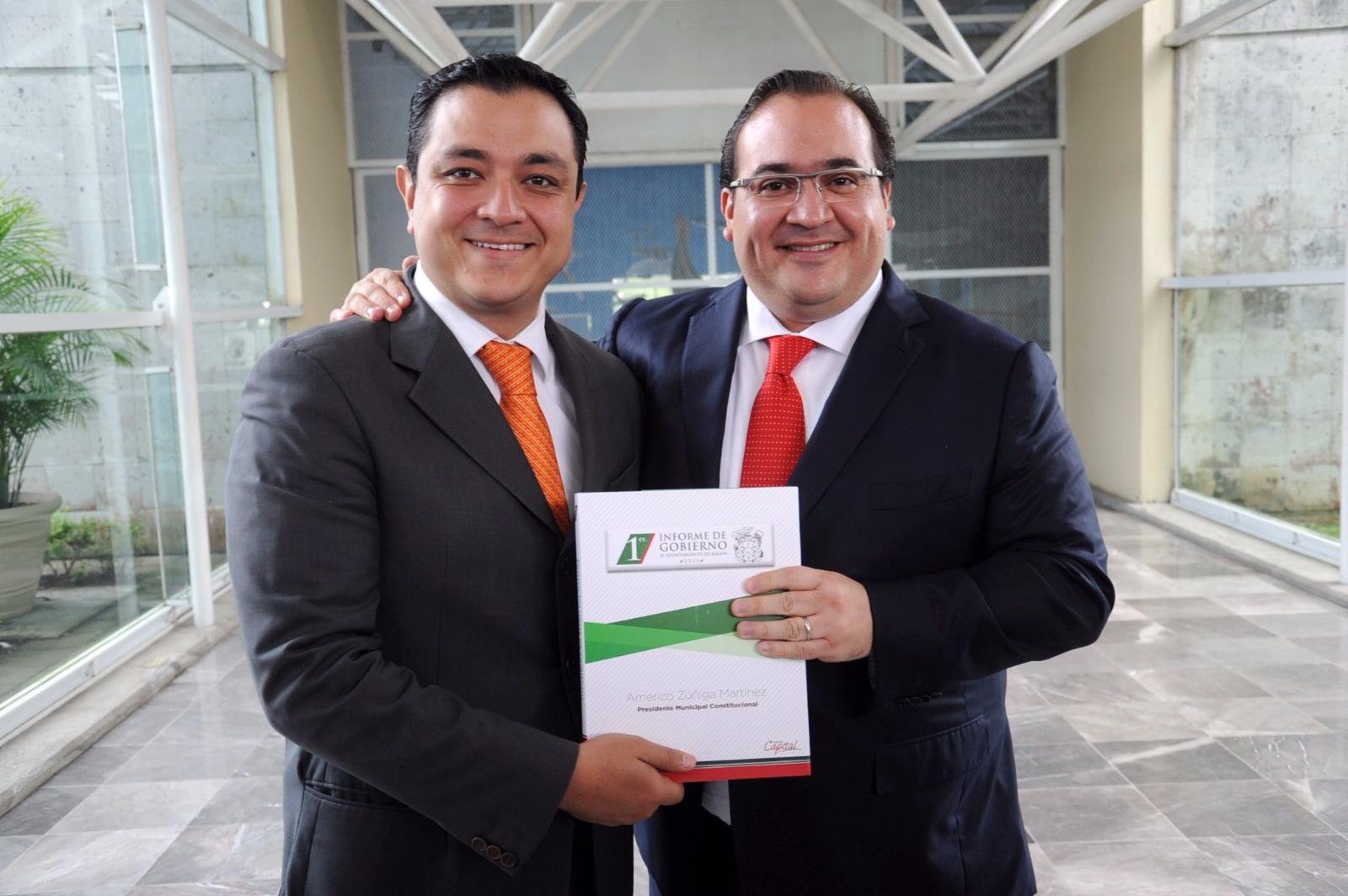 Detención de Javier Duarte, un acto de justicia: Américo Zúñiga