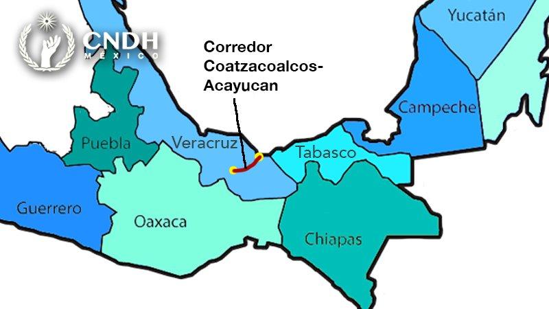 Fortalecerán vigilancia en corredor migrante en el sur de Veracruz