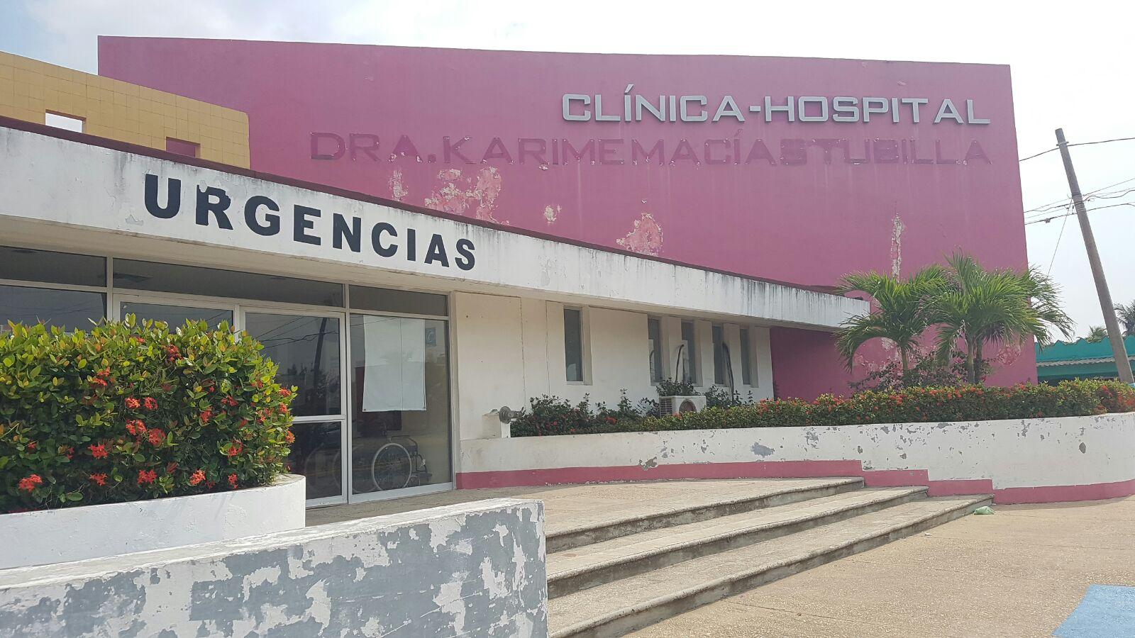 Retiran nombre de Karime Macías en clínica-hospital de Villa Allende