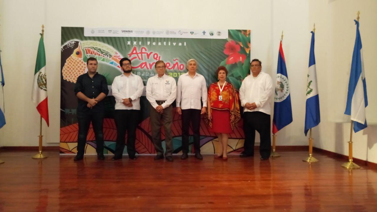 Inaugura Secretaría de Turismo el XXI Festival Afrocaribeño, en Veracruz
